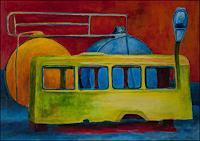 Udo-Greiner-Landschaft-Verkehr-Moderne-Expressionismus-Neo-Expressionismus