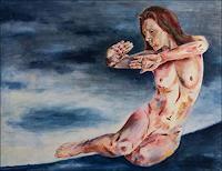 Udo-Greiner-Menschen-Frau-Mythologie-Moderne-expressiver-Realismus