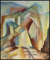 Udo-Greiner-Abstraktes-Landschaft-Moderne-Moderne