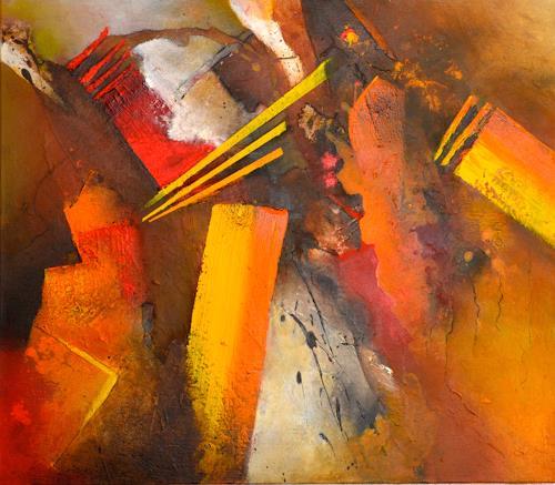 Tania Klinke, Big Bang, Abstraktes, Diverses, Gegenwartskunst, Abstrakter Expressionismus