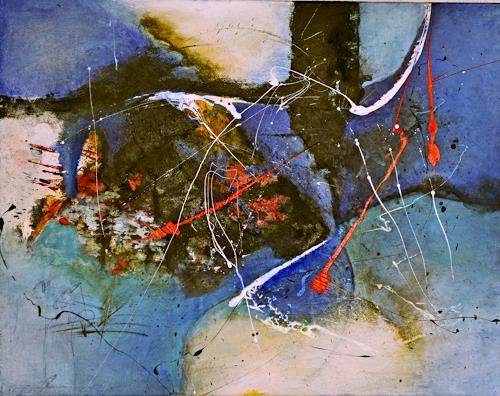 Tania Klinke, Apparition, Abstraktes, Diverses, Gegenwartskunst, Expressionismus
