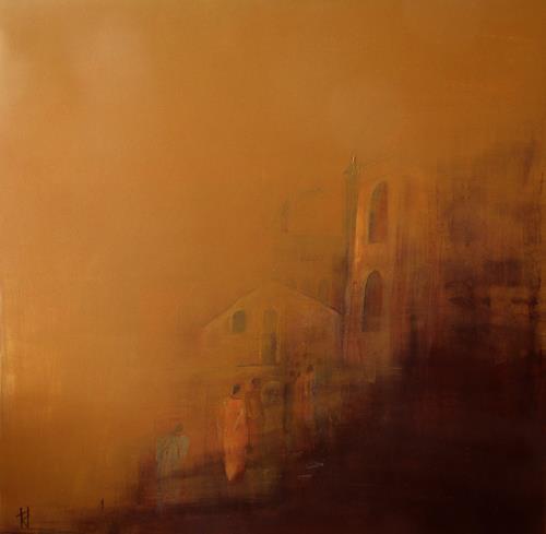 Tania Klinke, Le pèlerinage, Abstraktes, Diverses, Gegenwartskunst, Expressionismus