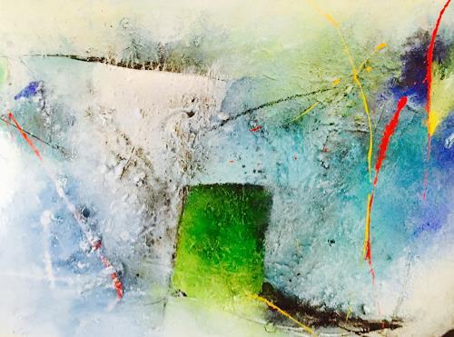 Tania Maria Klinke, Eingebung, Abstraktes, Diverses, Gegenwartskunst, Expressionismus