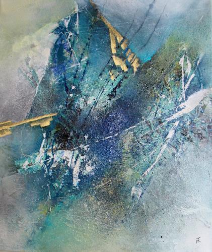 Tania Klinke, Bergzauber, Abstraktes, Diverses, Moderne, Abstrakter Expressionismus