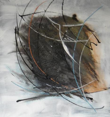 Karin Kraus, Erinnerung, Abstraktes, Abstrakte Kunst