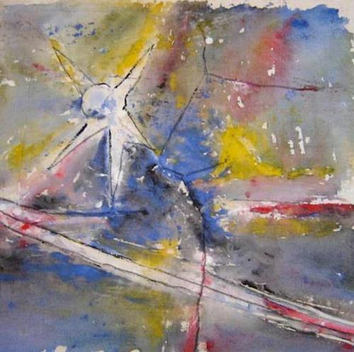 Karin Kraus, Verträumt, Fantasie, Skurril, Abstrakte Kunst, Expressionismus