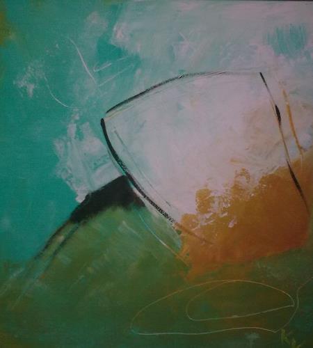 Karin Kraus, o.T., Abstraktes, Fantasie, Abstrakte Kunst, Abstrakter Expressionismus
