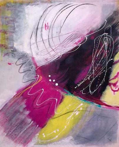 Karin Kraus, take it easy, Abstraktes, Skurril, Abstrakte Kunst