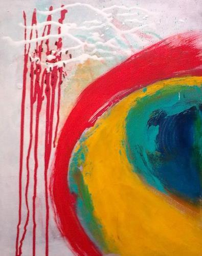 Karin Kraus, O/T, Abstraktes, Fantasie, Gegenwartskunst, Abstrakter Expressionismus