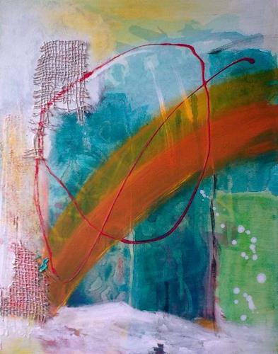 Karin Kraus, In Verbindung, Fantasie, Abstraktes, expressiver Realismus