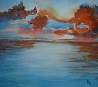 Karin-Kraus-Natur-Luft-Fantasie-Moderne-expressiver-Realismus
