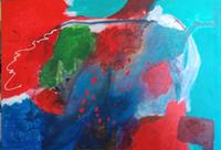 Karin-Kraus-Fantasie-Abstraktes-Moderne-Expressionismus-Abstrakter-Expressionismus