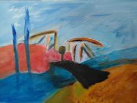 Karin-Kraus-Abstraktes-Landschaft-Moderne-Expressionismus