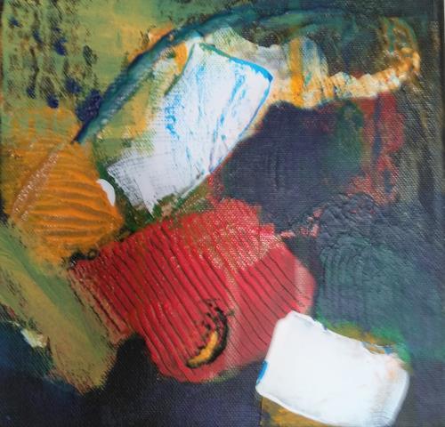 Karin Kraus, o.t.2020, Abstraktes, Dekoratives, Gegenwartskunst, Expressionismus