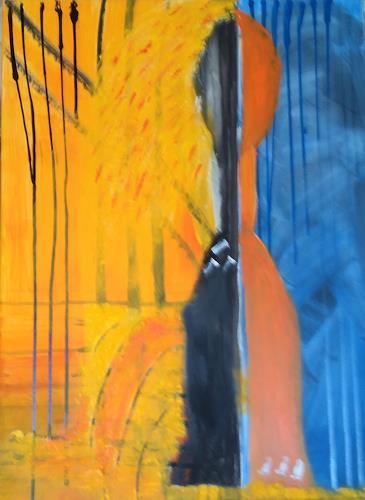 Karin Kraus, Ohne Titel, Skurril, Abstraktes, Expressionismus