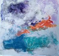 Karin-Kraus-Abstraktes-Abstraktes-Moderne-Expressionismus
