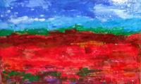 Karin-Kraus-Landschaft-Abstraktes-Moderne-Expressionismus-Abstrakter-Expressionismus