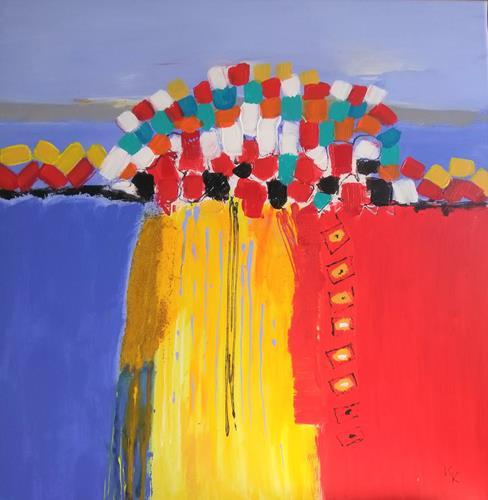 Karin Kraus, o.T.21/5, Abstraktes, Abstraktes, Abstrakte Kunst