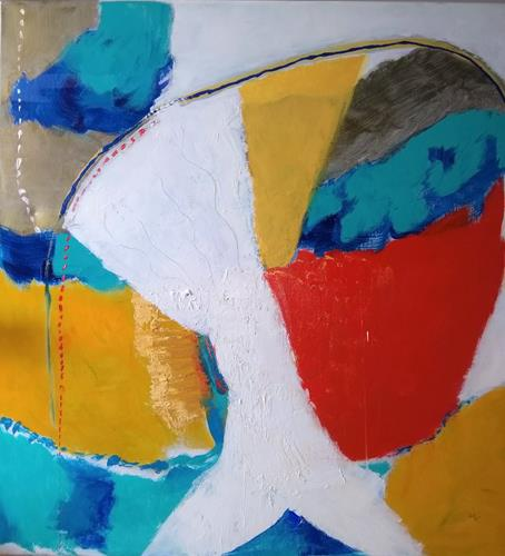 Karin Kraus, OT2020, Fantasie, Abstraktes, Colour Field Painting