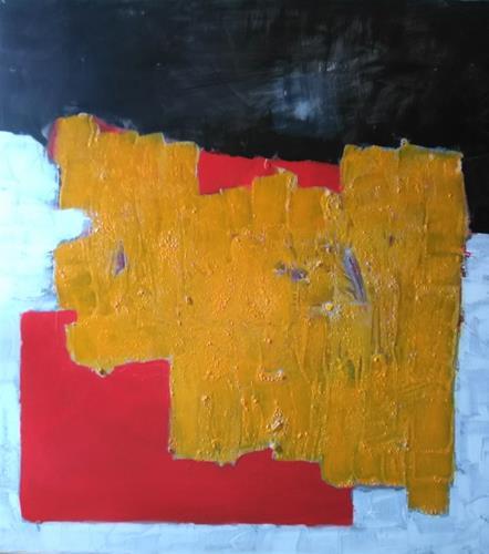 Karin Kraus, o.T.2021/8, Abstraktes, Abstraktes, Colour Field Painting, Abstrakter Expressionismus