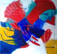 Karin-Kraus-Skurril-Fantasie-Moderne-Abstrakte-Kunst-Drip-Painting