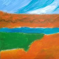 Karin-Kraus-Landschaft-See-Meer-Natur-Wasser-Gegenwartskunst-Gegenwartskunst