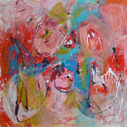 Christel Haag, Life is a Lollipop, Abstraktes, Gegenwartskunst, Expressionismus