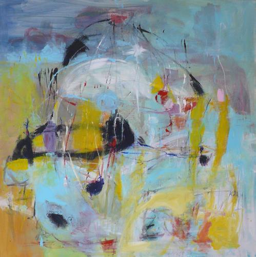 Christel Haag, My Secret Angel, Abstraktes, Gegenwartskunst