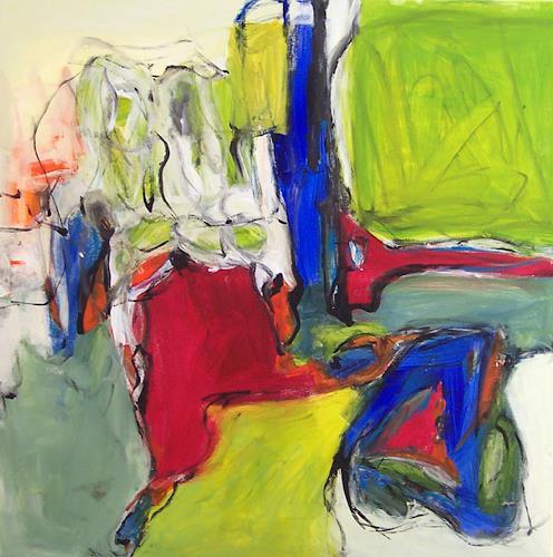 Christel Haag, Arabesque, Abstraktes, Gegenwartskunst