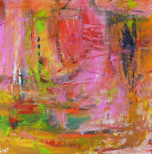 Christel Haag, Summer Dream, Abstraktes, Gegenwartskunst