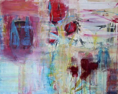 Christel Haag, Japanese Garden, Natur, Gegenwartskunst, Abstrakter Expressionismus