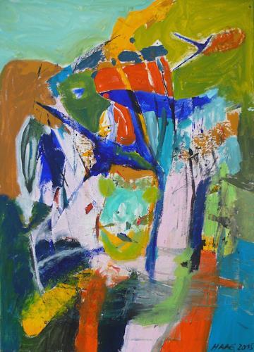 Christel Haag, Miami Love Affair, Abstraktes, Abstrakte Kunst