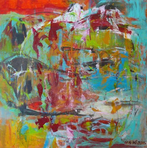 Christel Haag, Fernweh, Abstraktes, Gegenwartskunst