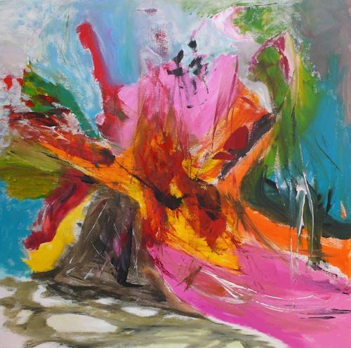 Christel Haag, Zerreißprobe, Abstraktes, Gegenwartskunst