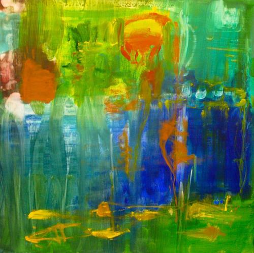 Christel Haag, Never Give Up, Gefühle, Gegenwartskunst