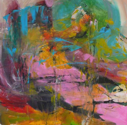 Christel Haag, Poetic Times 3, Abstraktes, Gegenwartskunst