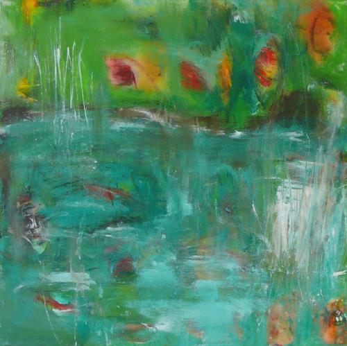 Christel Haag, Daydreamer, Fantasie, Natur, Gegenwartskunst, Expressionismus