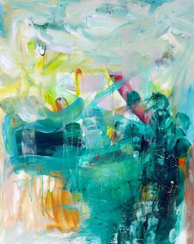 Christel Haag, Hold On, Abstraktes, Gegenwartskunst