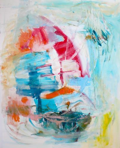 Christel Haag, Sailing Through Life, Landschaft, Abstraktes, Gegenwartskunst