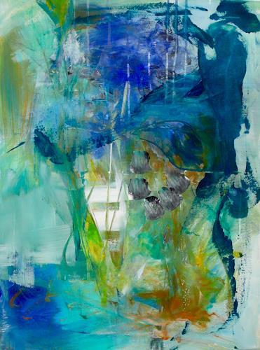 Christel Haag, Morning Exercise, Abstraktes, Gegenwartskunst