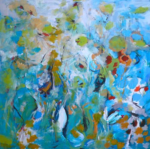 Christel Haag, Down Under, Abstraktes, Gegenwartskunst