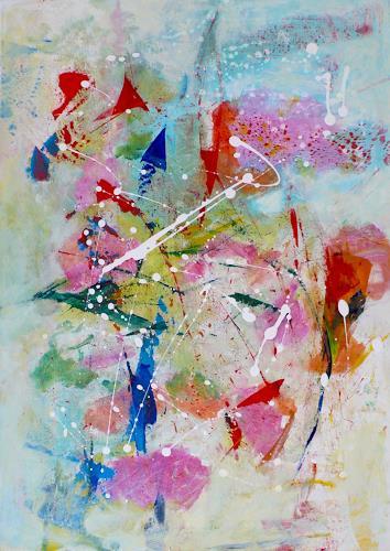 Christel Haag, Reif für die Insel, Abstraktes, Gegenwartskunst, Expressionismus