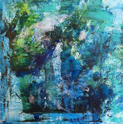Christel Haag, Walk in the Park, Abstraktes, Natur: Wald, Gegenwartskunst