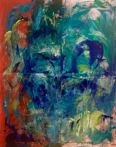 Christel Haag, Flirting, Abstraktes, Gegenwartskunst