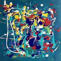 Christel-Haag-Abstraktes-Moderne-Abstrakte-Kunst-Drip-Painting