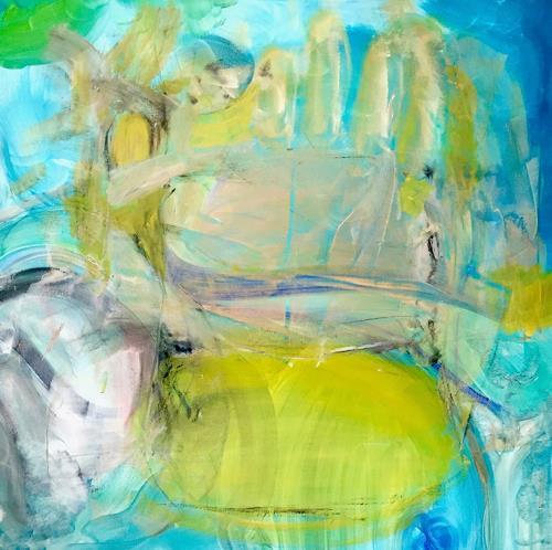 Christel Haag, Guardian Angel, Abstraktes, Mythologie, Gegenwartskunst, Abstrakter Expressionismus