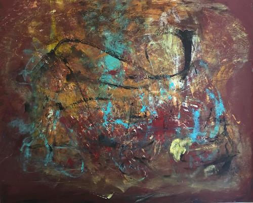 Christel Haag, Fingerprints of Life, Abstraktes, Gegenwartskunst