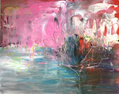 Christel Haag, Blooming Ocean, Abstraktes, Gegenwartskunst, Expressionismus