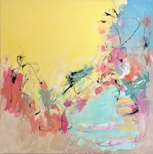 Christel Haag, Little Secrets, Abstraktes, Gegenwartskunst, Expressionismus
