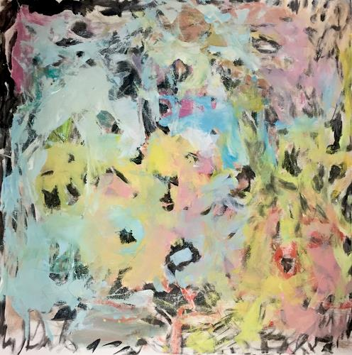 Christel Haag, Flourish, Abstraktes, Gegenwartskunst